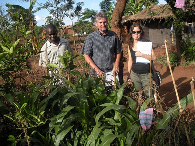 Stacia and Kristof Nordin came to Malawi in 1997 as Peace Corps volunteers, but now call Malawi home