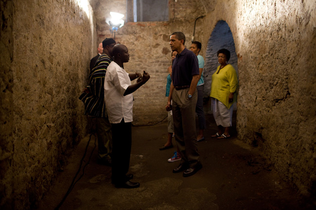 Remarks by President Obama at Cape Coast Castle in Ghana
