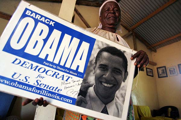 World Welcomes Obama Win