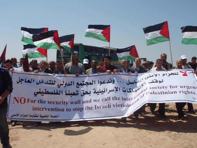 Jordan RPCV Ashley Bates writes: Gaza and Bi'lin witness same demonstrations