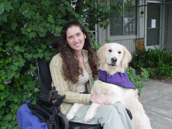 "Mongolia RPCV Linda Ball 's nonprofit ""facilitates the power of the human-canine bond"" through the process of training service dogs and placing them with people with disabilities"