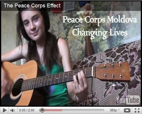 The Peace Corps Effect, a short by Marlene Nancy Lopez, a Peace Corps volunteer in Moldova, won first place in the YouTube contest My Piece of the Peace Corps initiated in celebration of the organization's 50th anniversary