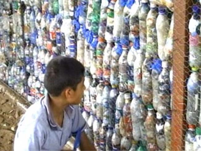 Peace Corps Volunteer Laura Kutner Creates School Out of Plastic Bottles