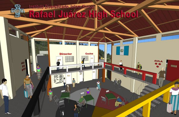 Jim Fanjoy, an architect in the Peace Corps who has been using SketchUp for a school project in Guatemala