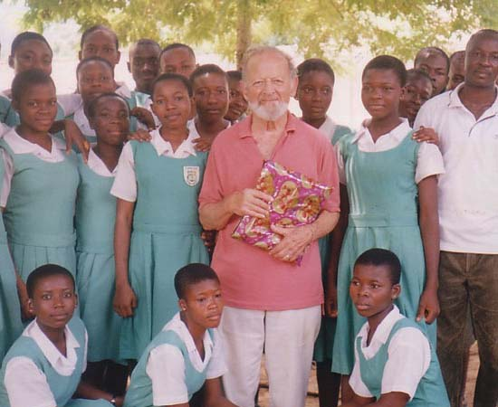 Ralph Bernstein becomes the oldest serving Peace Corps Volunteer in the world