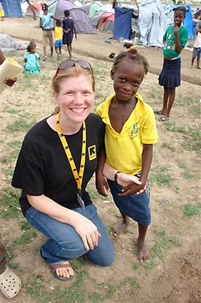 Mongolia RPCV Rebecca Chandler is one of five winners of the 2010 Sarlo Foundation Award for Distinguished Humanitarian Service, an award out of the International Rescue Committee for whom she's worked all over the world