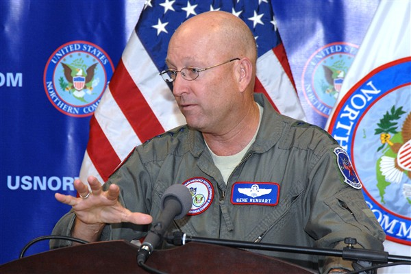 Air Force General Victor E. Renuart Jr. is the proud father of two great sons. One has been in combat and the other in the Peace Corps.