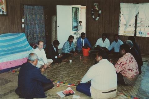 Robert Stevens served as a Peace Corps Volunteer in Tonga from 1995 to 1997
