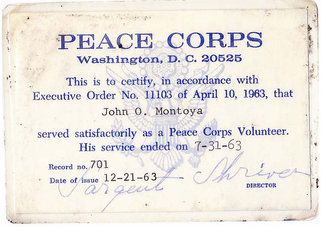 Peace Corps Online
