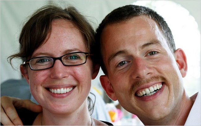 Stacey McKeever and Charles Fogelman met in Philadelphia in November 2003, right before their group of some two dozen Peace Corps volunteers left for Lesotho in southern Africa