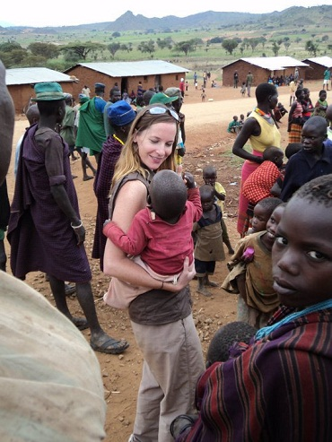 RPCV Stacey Rice works with Mercy Corps in Uganda