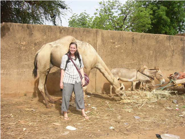 Peace Corps Volunteer Peace Corps Niger writes: Last week, a newly sworn in volunteer named Stephanie, passed away in her home in the Eastern Region of Zinder, after only having maybe two weeks in her ville after training