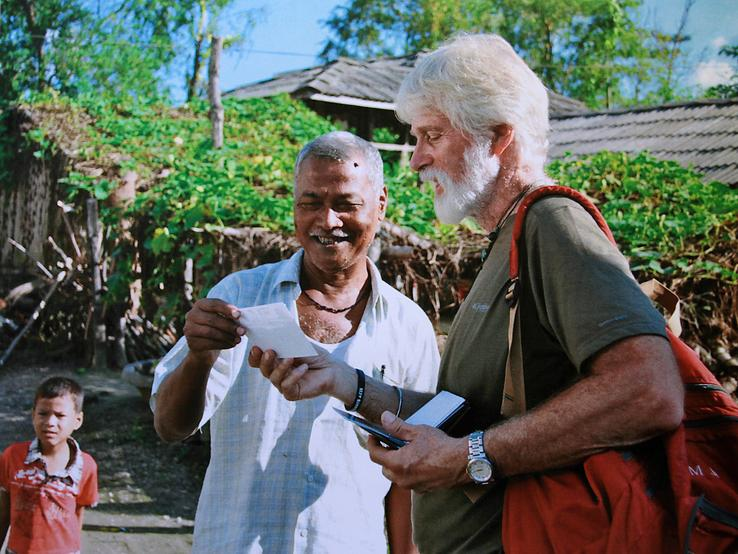 RPCV Stephen Mott visited Santapur, the village where he worked in the 1960s, during a recent return trip to Nepal