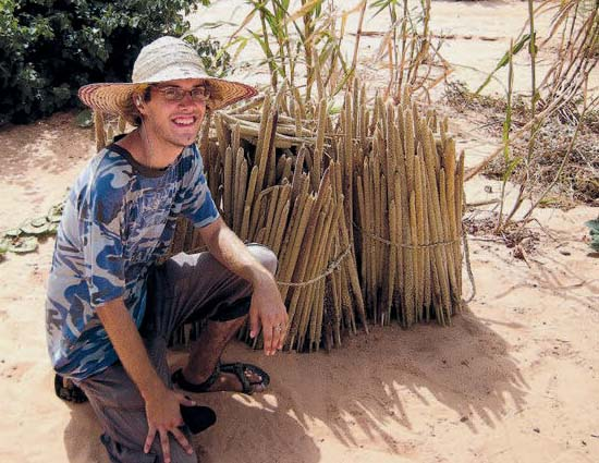 Sterling Carter is a Peace Corps Volunteer in Niger, one of the poorest countries in the world