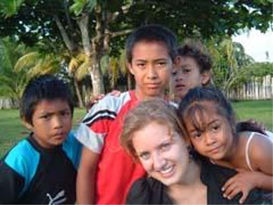 Olivia Szymanski is currently serving as a Peace Corps volunteer working to empower the young women of Belize