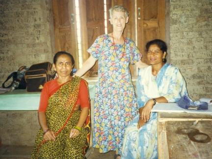 While in Nepal with the Peace Corps, Dr. Catherine Taylor Foster assisted in administering a Polio vaccine, the importance of green vegetables and the necessity of boiling water before drinking it