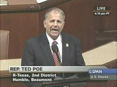 Representative Ted Poe says Congress is going to investigate Peace Corps treatment of sexual assault victims