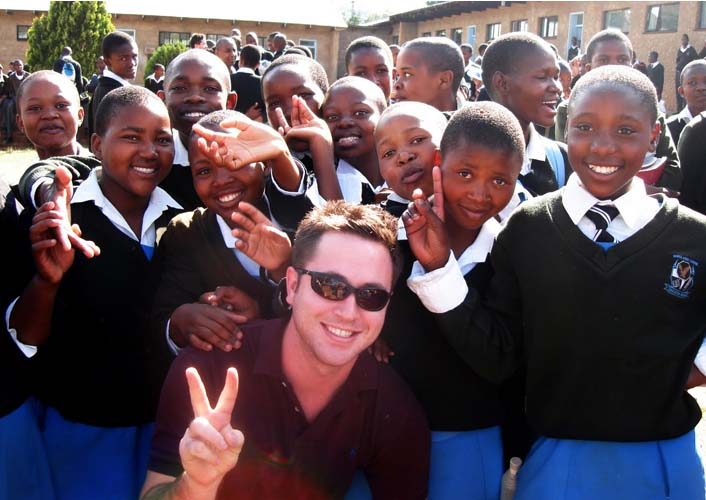 Peace Corps Volunteer I Am Eric An African writes: While my friends and I recognized his charm and energy from the get-go, it was not until later that we came to learn what a truly impressive guy Tom was