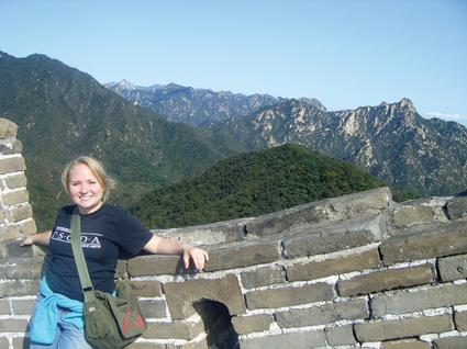 Peace Corps volunteer Tiffany Nelson went to China to teach - and learned a lot herself