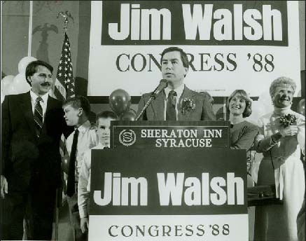 Jim Walsh honored by Onondaga County legislature