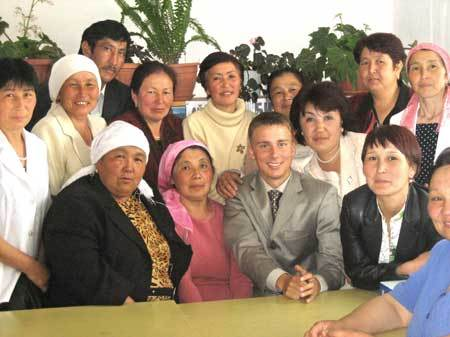 Zachary Haugen served as a Peace Corps Volunteer in Kyrgyzstan